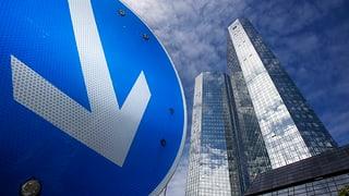 Der Deutschen Bank schmilzt der Gewinn weg