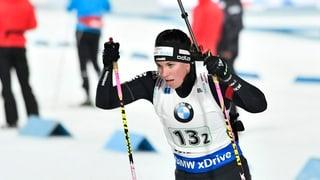 Biatlon: Lena Häcki cun ses meglier resultat