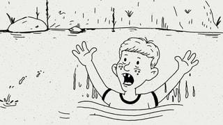 Müssen wir helfen? Gedankenexperiment: Kind im Teich