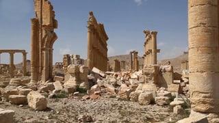 Palmyra: Warum Archäologen Hoffnung haben