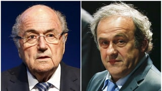 Blatter und Platini für acht Jahre gesperrt
