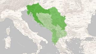 Die Beziehungen vieler Balkanstaaten zur EU sind kompliziert. Klicken Sie sich durch die Karte und erfahren Sie mehr über die einzelnen Länder.