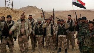Syrien: Regierungstruppen erobern Palmyra