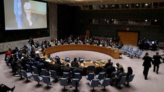 Keine Abstimmung zu Syrien im UNO-Sicherheitsrat