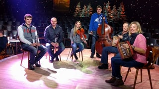 «Viva Volksmusik» 2016 – backstage mit Moderator Nicolas Senn