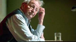 Peter Bichsel: «Ruhestand? Ich weiss nicht, wie man das macht»