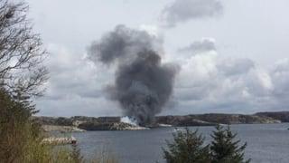 Helikopter-Crash in Norwegen