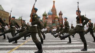 Kriegsverweigerer bringen Putin in Erklärungsnot