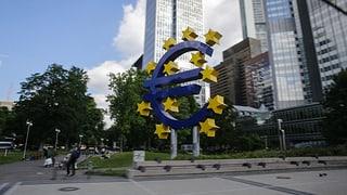 Lesen Sie hier mehr über den Entscheid der EZB.