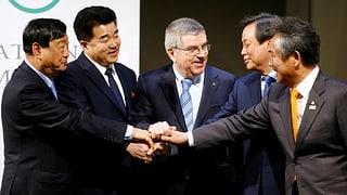 Historische Korea-Einigung beim IOC