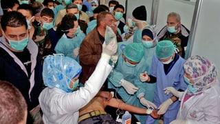 Syrien: Experten sollen Giftgas-Vorwürfe klären