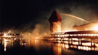 20 Jahre Kapellbrückenbrand: Was bleibt, ist der Bilderstreit