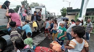 Sturm fordert drei Todesopfer auf den Philippinen