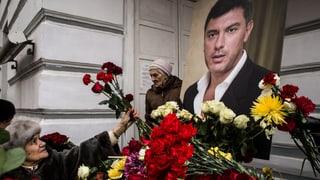 Die wahren Mörder Nemzows bleiben im Dunkeln