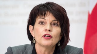 Leuthard lobt Kanadas neue Klimapolitik