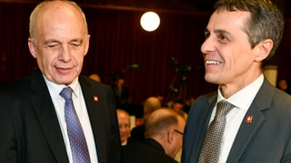 Bundesrätliche Kakophonie zum Rahmenabkommen mit der EU