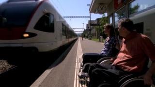 Der Rollstuhl ist das kleinste Handicap