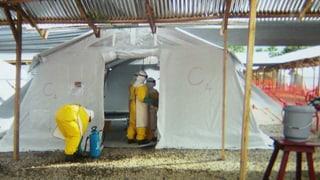 Respekt, aber keine Angst: Schweizer Helfer im Ebola-Gebiet