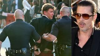 Bei Filmpremiere: Fernsehreporter schlägt Brad Pitt ins Gesicht