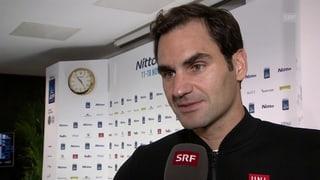 Federer: «Ich kann zufrieden sein»