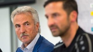Trotz desolaten Leistungen: FCSG hält an Trainer fest