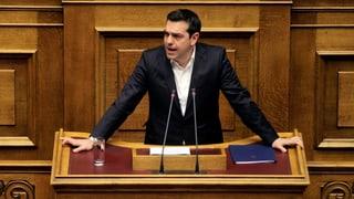 Tsipras: «Griechenland wird kein Lager für menschliche Wesen»