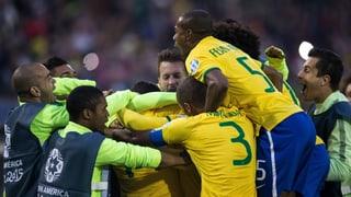 Brasilien auch ohne Neymar im Viertelfinal