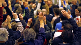 Luzerner SVP-Politiker wollen Gemeindeversammlungen abschaffen