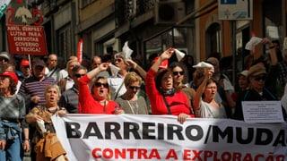Massenproteste in Portugal gegen Sparpolitik