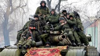 Separatisten in der Ostukraine kündigen Grossoffensive an