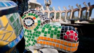 700 Besucher im wiedereröffneten Bruno Weber-Park