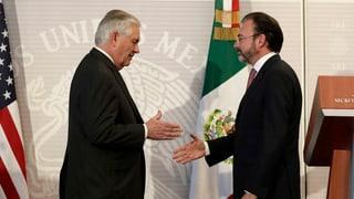 US-Aussenminister zu Besuch in Mexiko