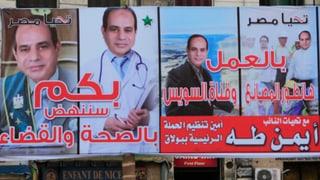 An Ex-General Sisi führt kein Weg vorbei