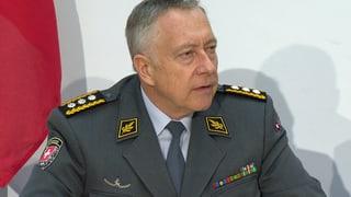 Parmelin trennt sich von Armee-Chef Blattmann