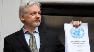 Nach dem UNO-Gutachten spricht Julian Assange von «Sieg»