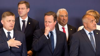 EU-Gipfel macht mächtig Druck auf Grossbritannien