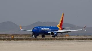 Boeing 737 Max muss notlanden