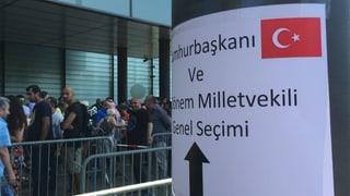 Andrang bei Stimmabgabe der Schweizer Auslandstürken