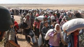 Immenser Flüchtlingsansturm in der Türkei