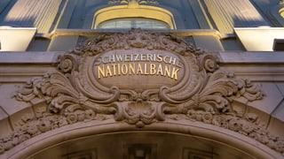 SNB gibt Kanton und Stadt Zürich den Laufpass