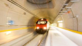 Mehr Probefahrten durch den Gotthard-Basistunnel