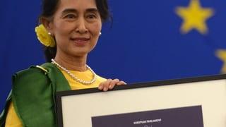 Mit Jahrzehnten Verspätung erhält San Suu Kyi den Sacharow-Preis