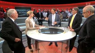 «Arena»: Wie weiter mit dem Finanzplatz Schweiz?