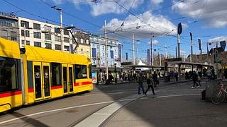 Basler Bahnhofsplatz wird zur Grossbaustelle