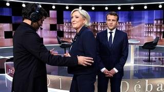 Macron schlägt Le Pen – in der Fernsehdebatte