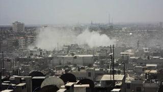 Syrisches Regime akzeptiert Waffenruhe