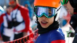 Vanessa Mae vergeigt ihr Olympia-Rennen und freut sich