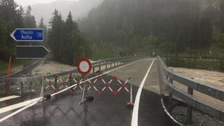 A13 serrada tranter Tusaun e Roveredo