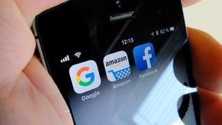US-Regierung nimmt Facebook, Amazon und Co. ins Visier
