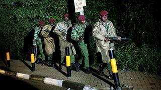 Nairobi: Terroristen in die Enge getrieben
